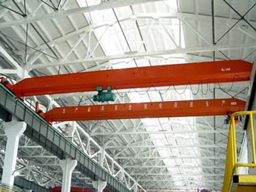 Explosion - proof single girder crane