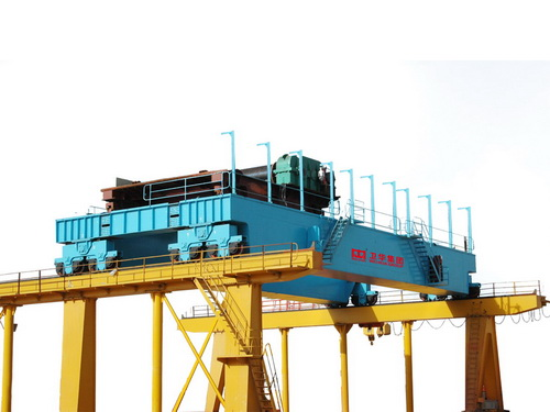 QD type double hook bridge crane
