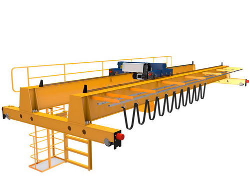 New European Standard Hoist Double Beam Crane