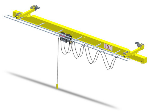 Electric single girder suspension crane