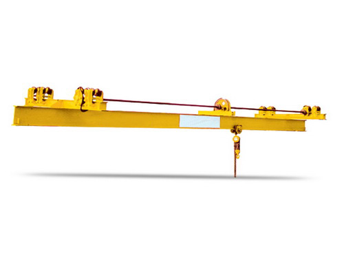 SLX type manual single girder suspension crane