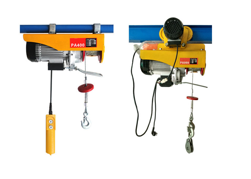400 kilograms mini electric hoist