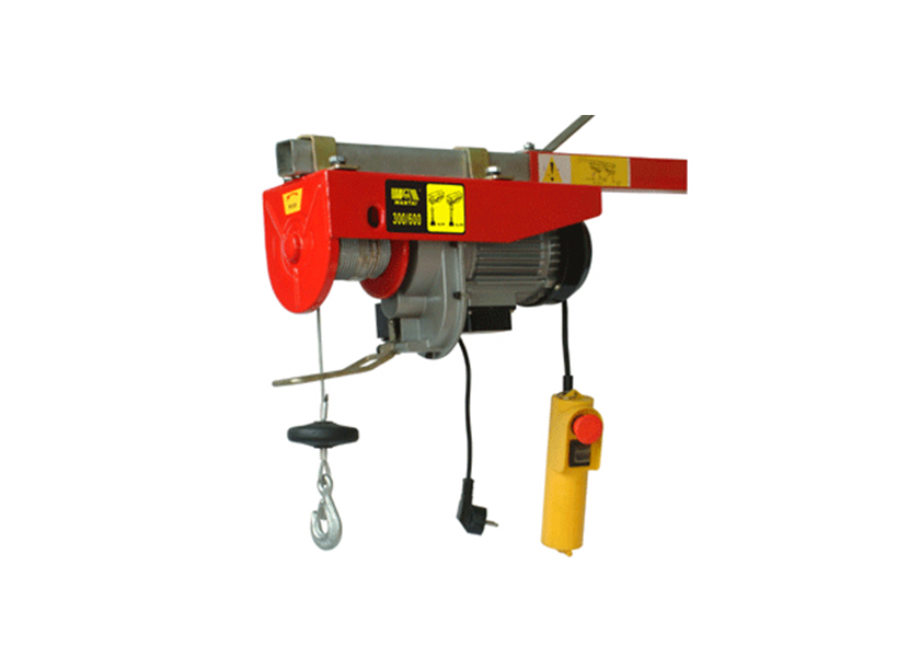 Fixed miniature electric hoist